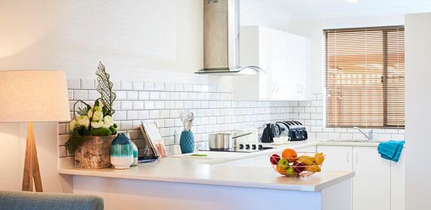 Geraldton Village villa kitchen