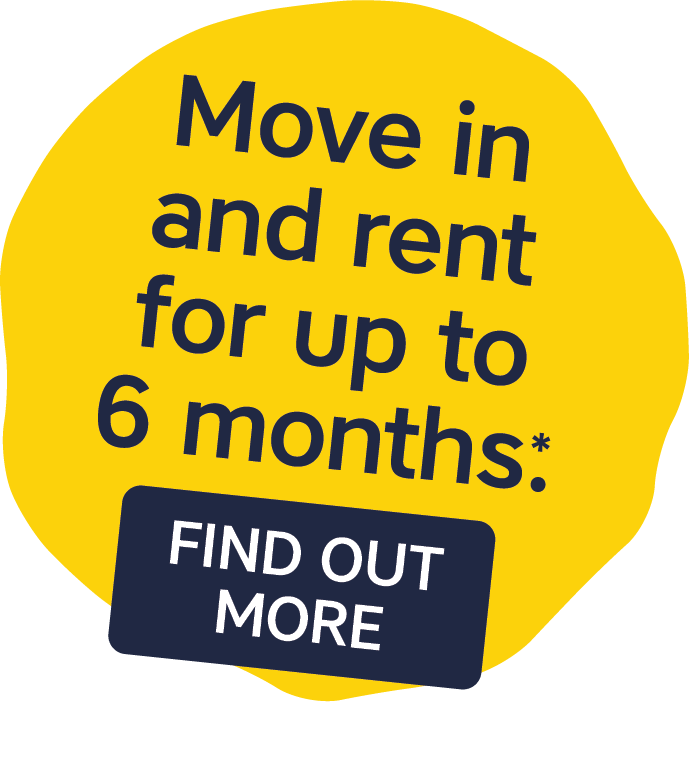 Move in and rent for up to 6 months: find out more
